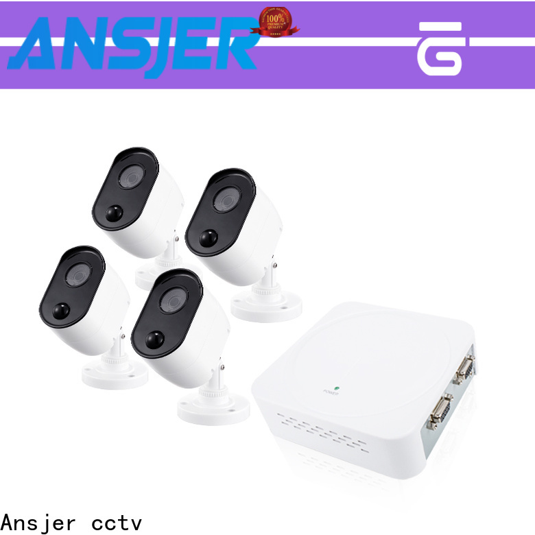 Ansjer cctv recorder 1080p dvr security system wholesale for office