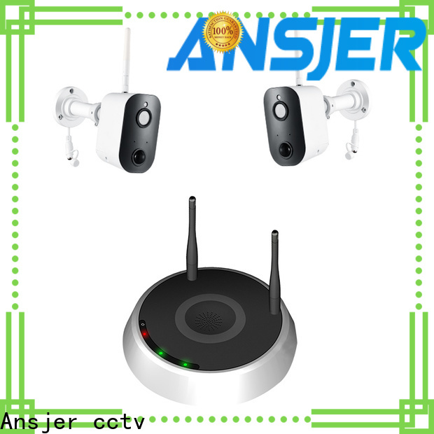 Ansjer cctv wire simply smart home security wholesale for indoors or outdoors