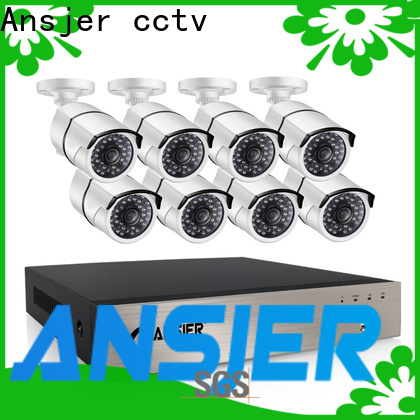 Ansjer cctv poe ip camera poe 1080p manufacturer for office
