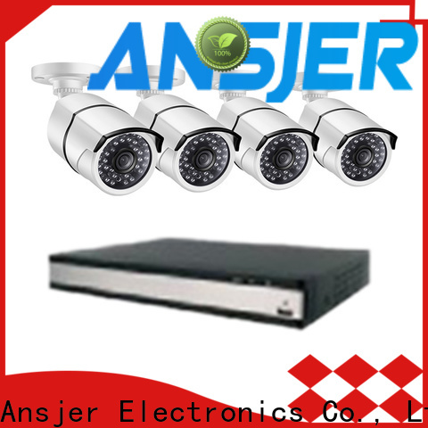 Ansjer cctv email poe security camera system 1080p series for office