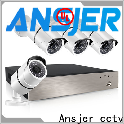 Ansjer cctv electric poe nvr system supplier for office