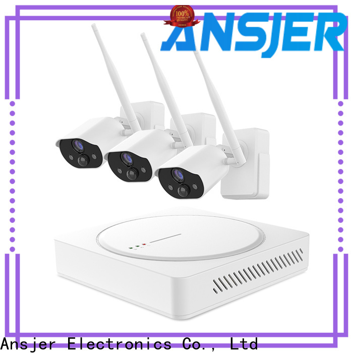 Ansjer cctv nvr best smart home security system supplier for home
