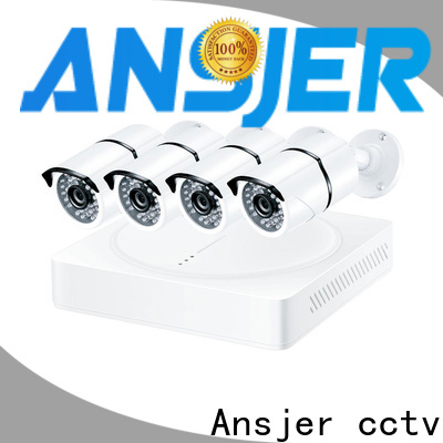 Ansjer cctv ultra 4k camera system series for office