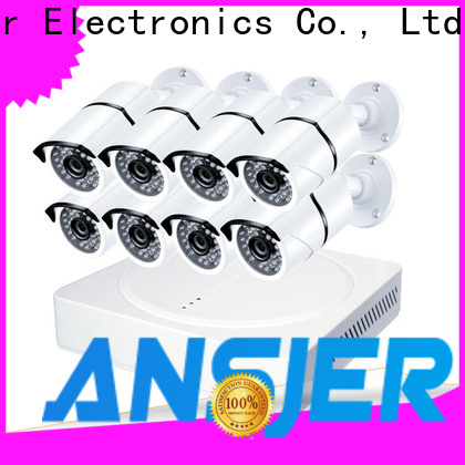 Ansjer cctv high quality 4k security system series for indoors or outdoors