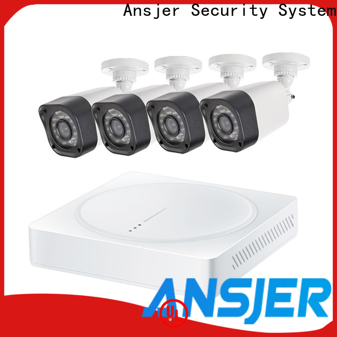 Ansjer cctv system 720p surveillance camera system wholesale for home