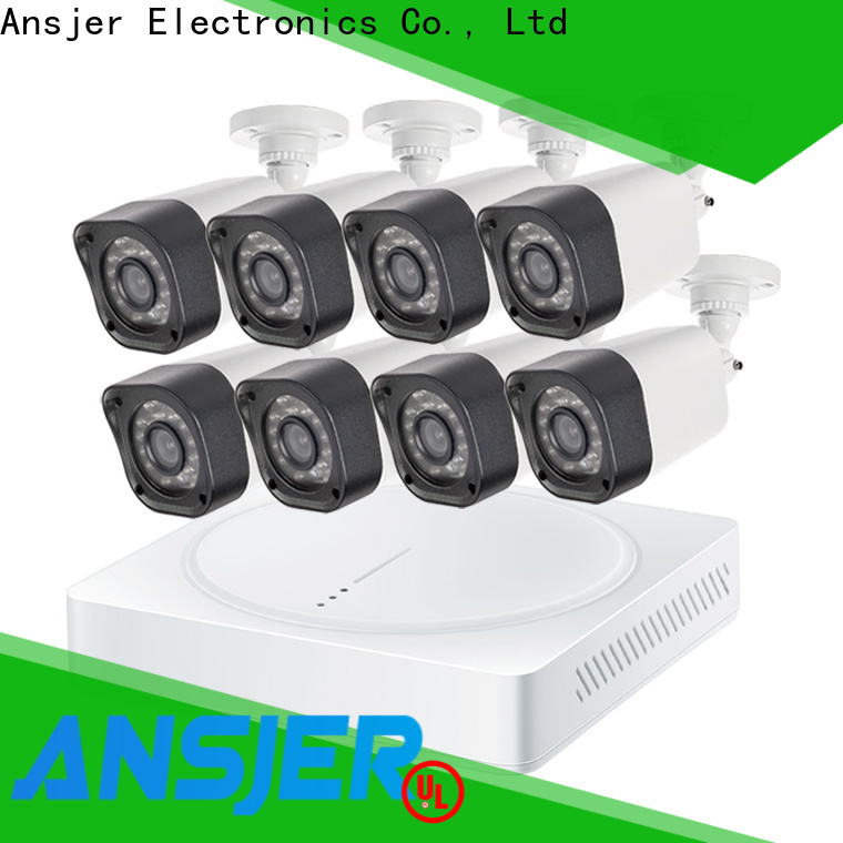 Ansjer cctv high quality 720p surveillance camera system supplier for indoors or outdoors