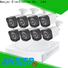 high quality 720p security camera system dvr with night vision for surveillance