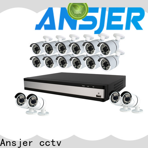 Ansjer cctv security best 1080p security camera system manufacturer for home