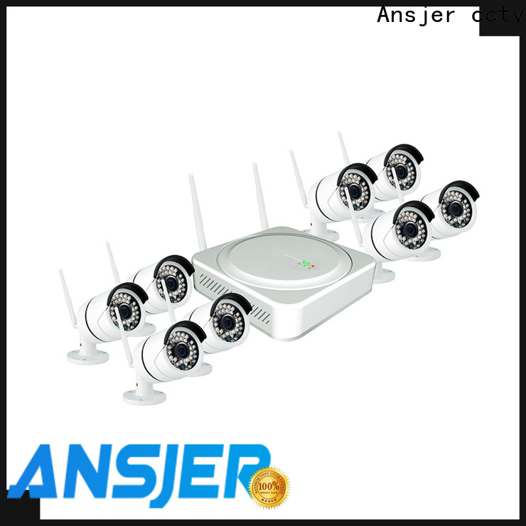 durable 1080p hd wireless security camera system system with night vision for office