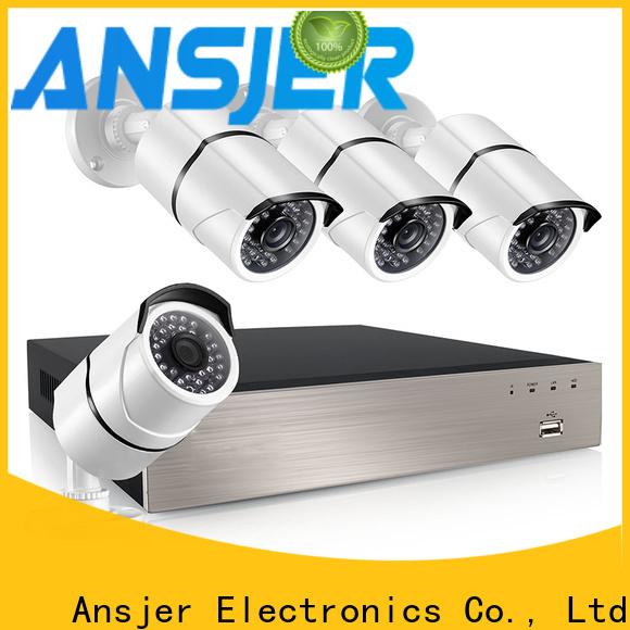 Ansjer cctv durable 1080p poe wholesale for surveillance