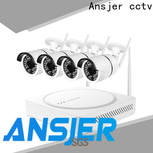 Ansjer cctv indoor wireless cctv system series for office