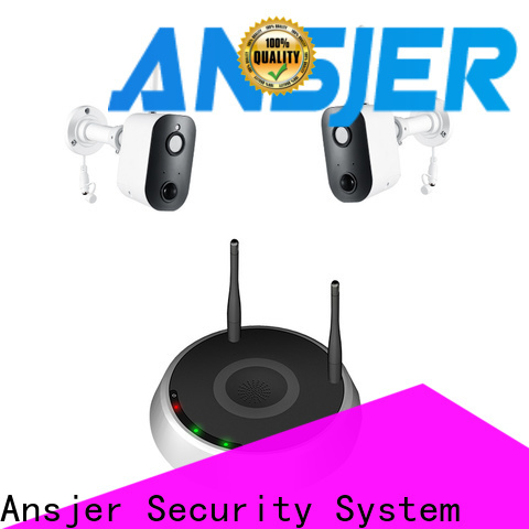 Ansjer cctv wire-free smart home surveillance systems manufacturer for surveillance