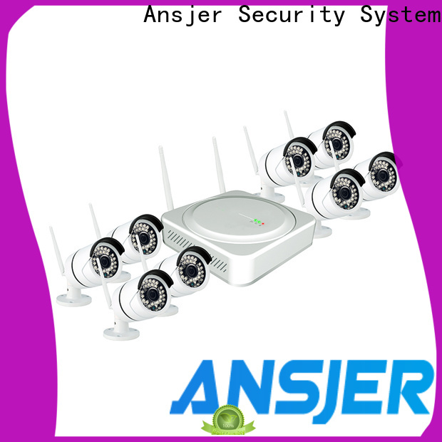 Ansjer cctv high quality 1080p wireless security camera series for home
