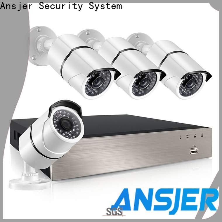 Ansjer cctv ip camera 5mp poe wholesale for indoors or outdoors