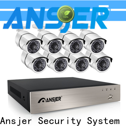 Ansjer cctv security 5mp poe supplier for home