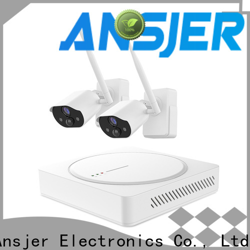Ansjer cctv wire-free simply smart home security wholesale for indoors or outdoors