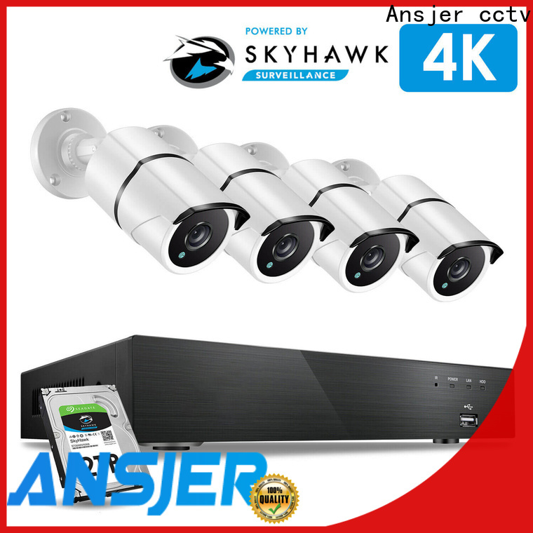 Ansjer cctv ultra 4k cctv system series for indoors or outdoors