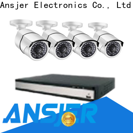 Ansjer cctv viewing security camera system 5mp manufacturer for office