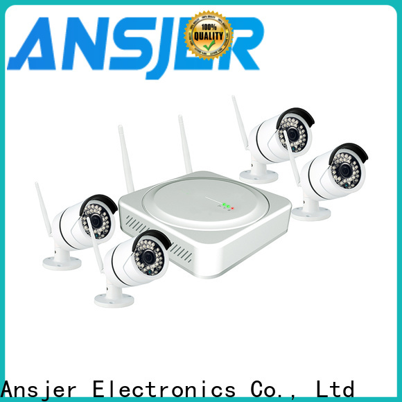 Ansjer cctv wireless best wireless security camera system series for indoors or outdoors