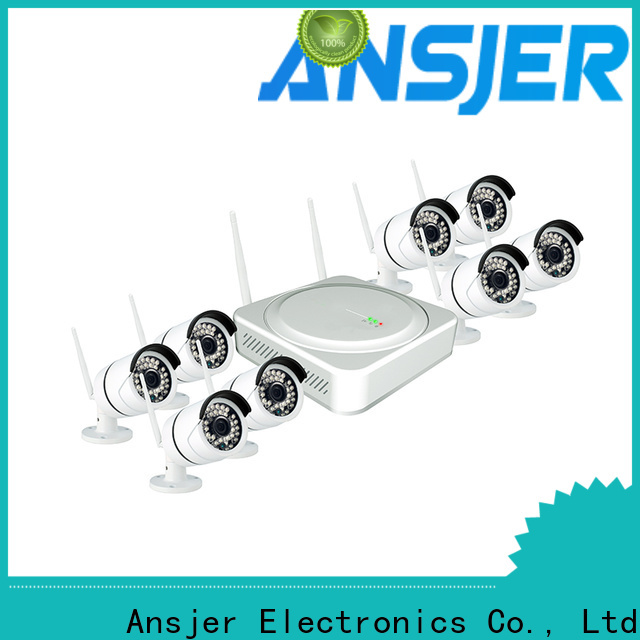 Ansjer cctv system wireless cctv system manufacturer for home