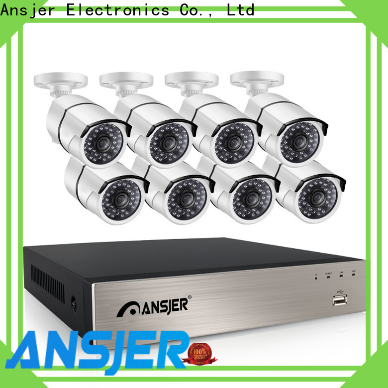 Ansjer cctv durable 1080p poe camera wholesale for office