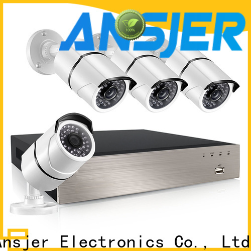 Ansjer cctv cameras ip camera 5mp poe series for office