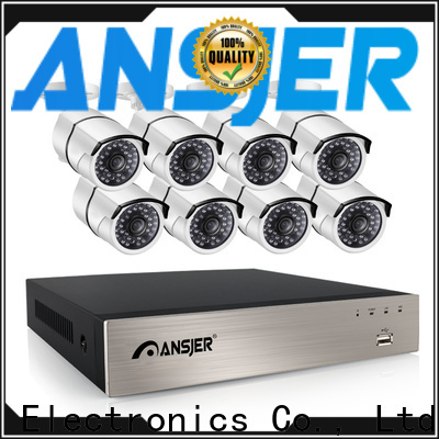 Ansjer cctv internet 5mp poe ip camera series for indoors or outdoors
