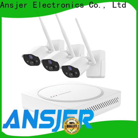 Ansjer cctv audio smart home monitoring system wholesale for surveillance