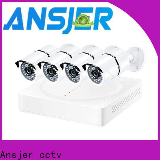 Ansjer cctv surveillance security camera system 5mp manufacturer for office