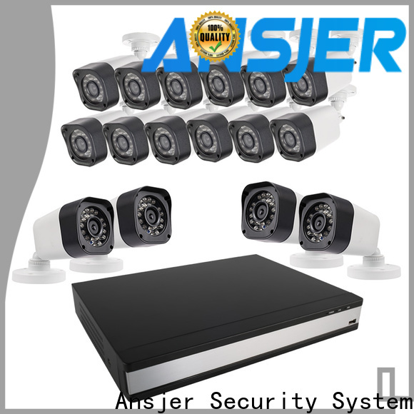Ansjer cctv durable best 720p security camera system supplier for office