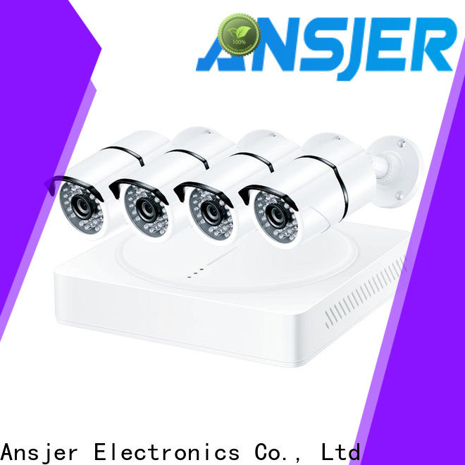 Ansjer cctv electric 1080p hd security camera system wholesale for indoors or outdoors