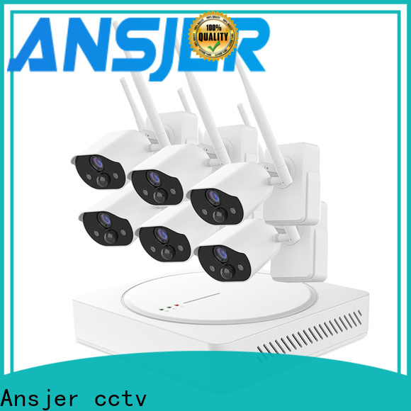Ansjer cctv free smart home surveillance supplier for home
