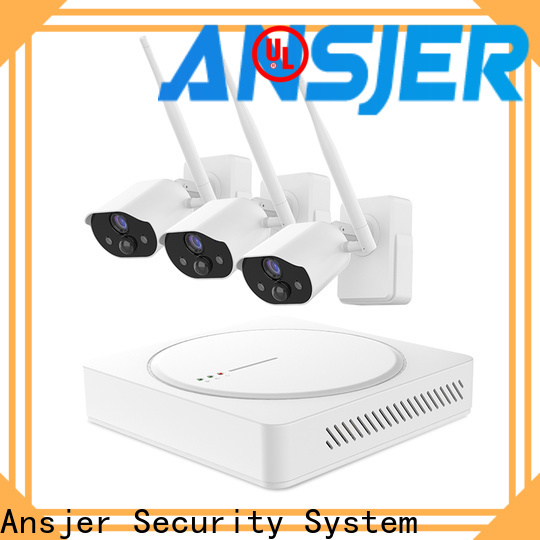Ansjer cctv weatherproof smart home monitoring system supplier for surveillance