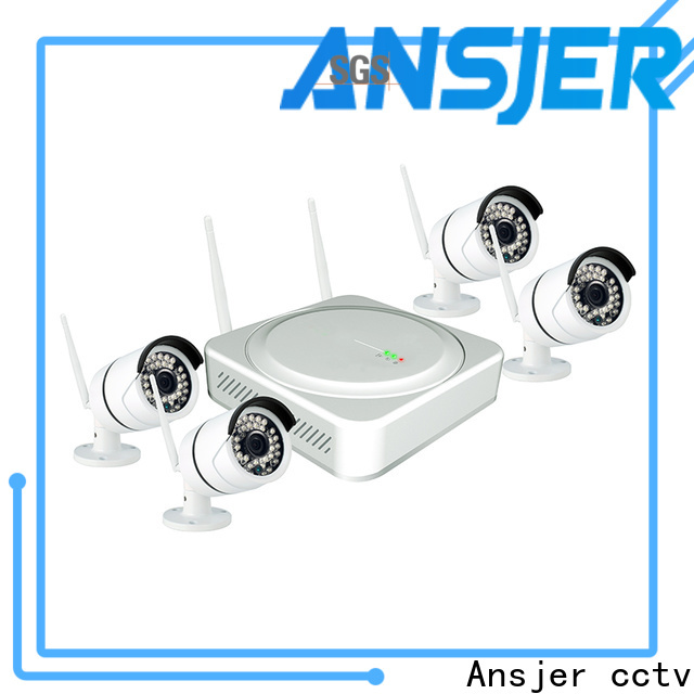 Ansjer cctv alert best wireless security camera system manufacturer for home