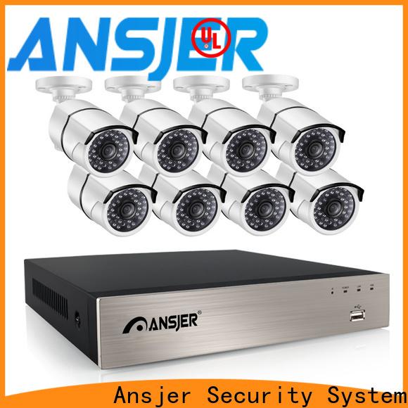 Ansjer cctv durable poe cctv 1080p supplier for surveillance