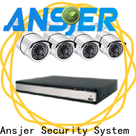 Ansjer cctv video 1080p poe camera supplier for office