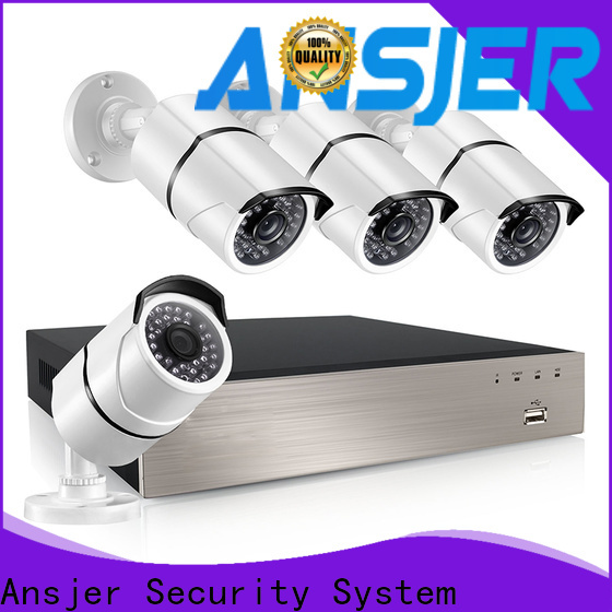 Ansjer cctv durable 5mp poe ip camera supplier for indoors or outdoors