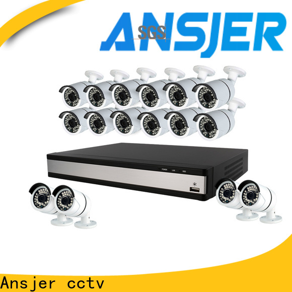 Ansjer cctv electric best 1080p security camera system supplier for surveillance