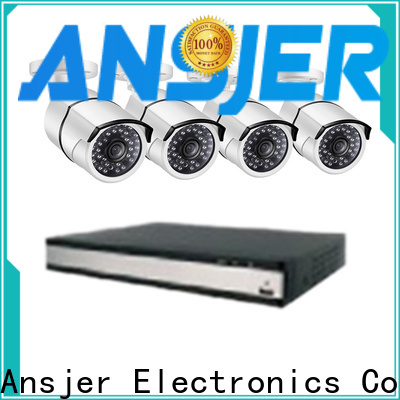 Ansjer cctv high quality 2k ip security camera system supplier for surveillance