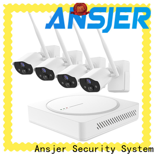 Ansjer cctv audio smart home security system wholesale for office
