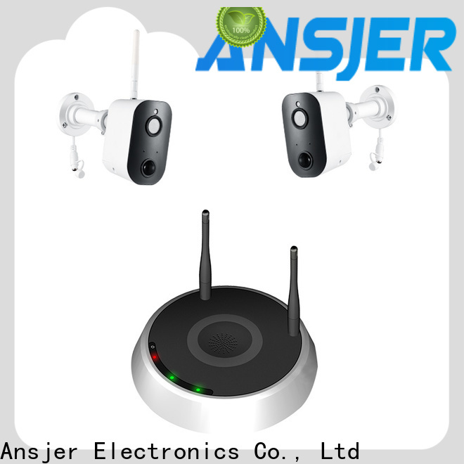 Ansjer cctv detection smart home monitoring system series for indoors or outdoors