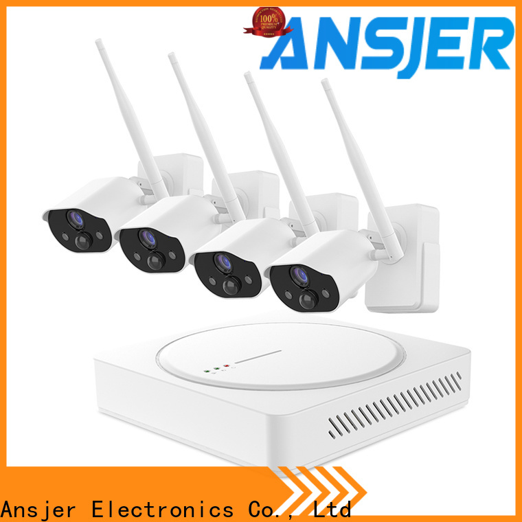 Ansjer cctv detection best smart home security system wholesale for indoors or outdoors