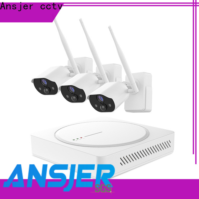 Ansjer cctv high quality smart home surveillance systems manufacturer for office
