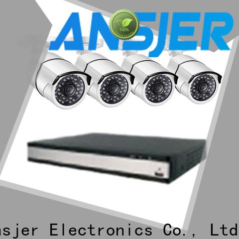 Ansjer cctv internet 2k ip camera system supplier for office