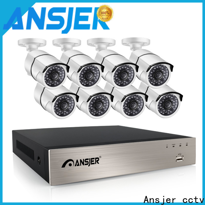 Ansjer cctv outdoor nvr 1080p wholesale for home