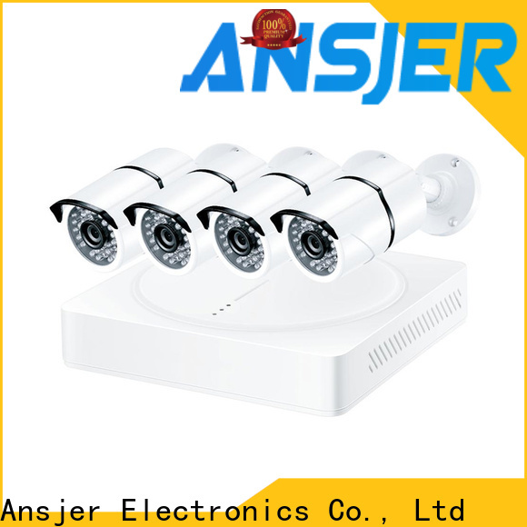 Ansjer cctv high quality 2k security camera system wholesale for office