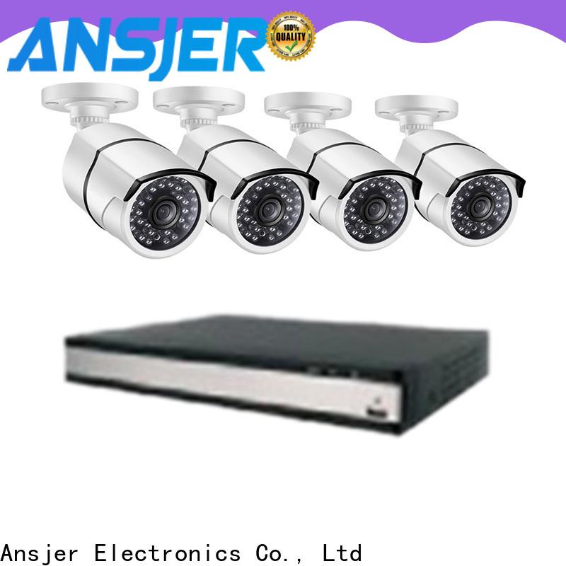 Ansjer cctv alert 2k security camera system supplier for surveillance