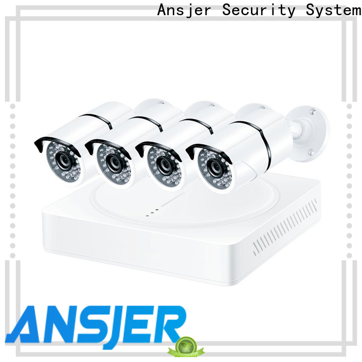 Ansjer cctv viewing 8mp security camera system supplier for surveillance