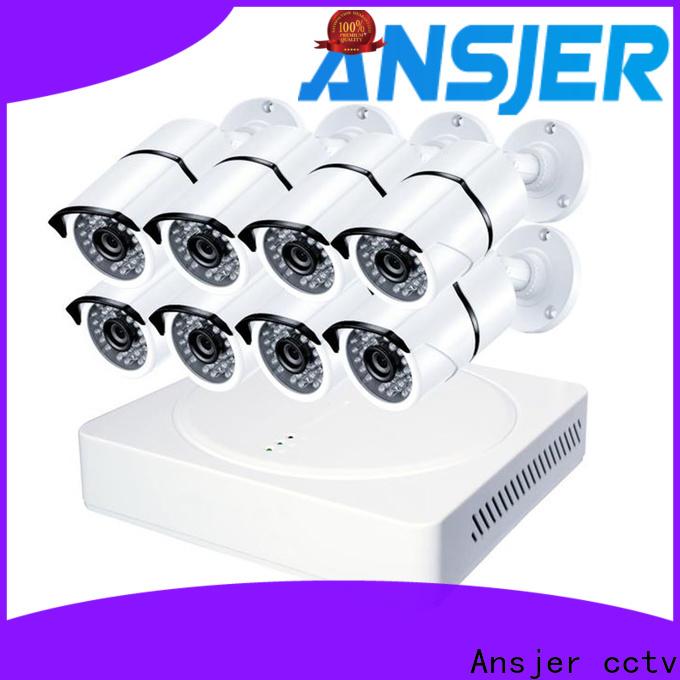 Ansjer cctv security 4k cctv system manufacturer for surveillance