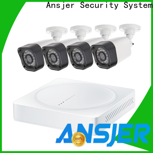 Ansjer cctv dvr 720p security camera system with night vision for office